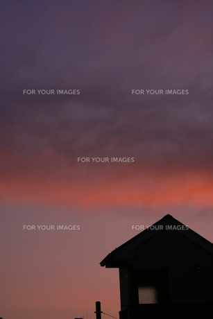 夕景の素材 [FYI00055595]