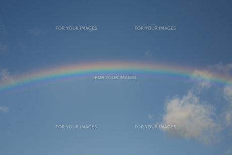 虹の素材 [FYI00055675]