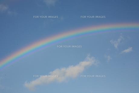虹の素材 [FYI00055692]