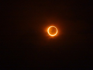 金環日食の素材 [FYI00055710]