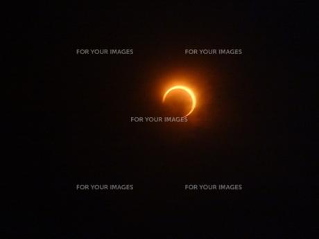金環日食の写真素材 [FYI00055715]