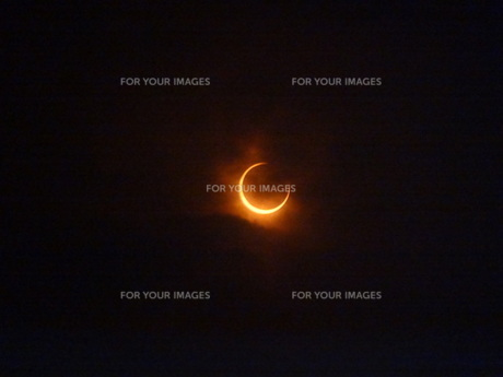 金環日食の写真素材 [FYI00055722]
