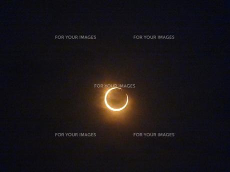 金環日食の素材 [FYI00055744]