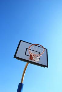 バスケットボールのゴールの写真素材 [FYI00055996]