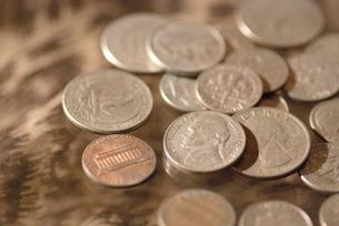 ドル硬貨の写真素材 [FYI00056026]