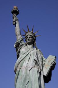 お台場の自由の女神の写真素材 [FYI00056378]