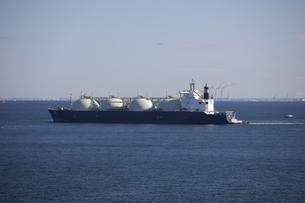 LNGタンカー船の写真素材 [FYI00056480]