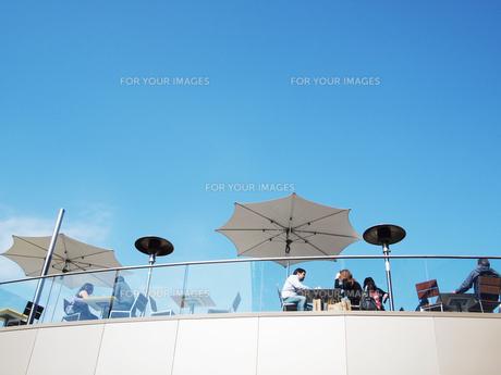 オープンカフェの写真素材 [FYI00056656]