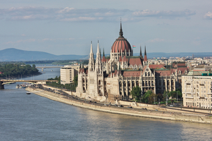 ハンガリー国会の写真素材 [FYI00057037]