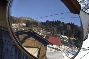 春を待つ山村の写真素材 [FYI00057125]