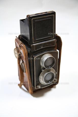 オールドカメラの写真素材 [FYI00057162]