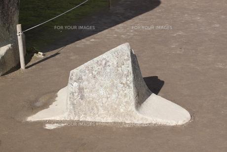 マチュピチュ 日時計の写真素材 [FYI00057310]