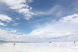 ウユニ塩湖の写真素材 [FYI00057320]