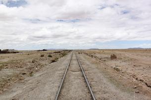 線路の写真素材 [FYI00057323]