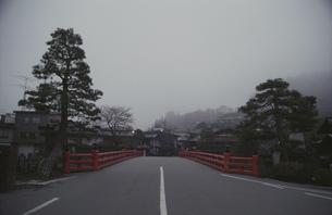 飛騨高山の中橋の素材 [FYI00057466]