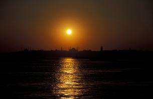 トルコの夕日の素材 [FYI00057471]