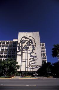 キューバ 革命広場の素材 [FYI00057506]