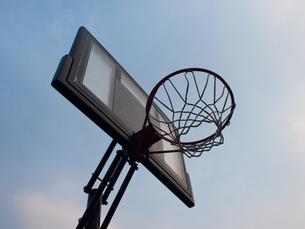 バスケットゴールの写真素材 [FYI00057520]