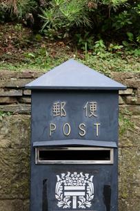 レトロな郵便ポストの素材 [FYI00057522]
