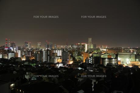 横浜の夜景の素材 [FYI00057531]