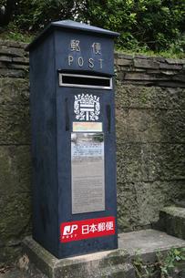 レトロな郵便ポストの素材 [FYI00057532]