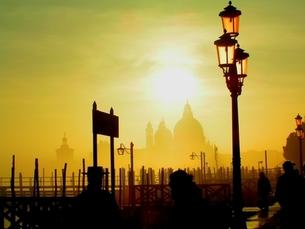 ベネツィアでの夕暮れの素材 [FYI00057546]