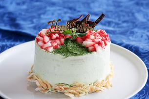 バースデーケーキの写真素材 [FYI00057572]