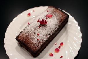 カフェのケーキの写真素材 [FYI00057648]