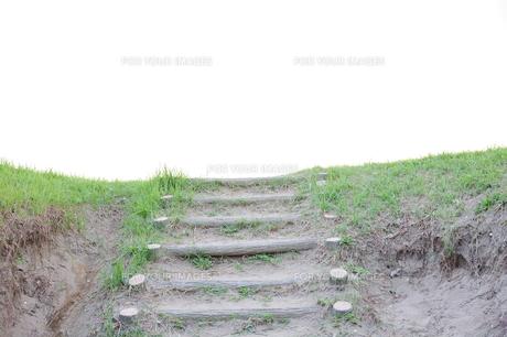 砂の階段の素材 [FYI00057896]