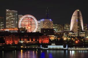 大桟橋から見た景色の写真素材 [FYI00057988]