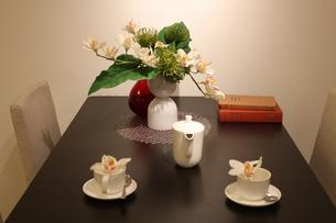 テーブルセットの写真素材 [FYI00058161]