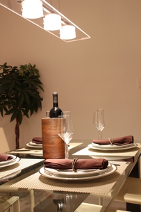 食卓の写真素材 [FYI00058173]