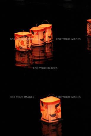 灯篭流しの素材 [FYI00058176]