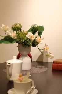 テーブルの写真素材 [FYI00058202]