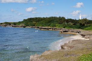 沖縄の海辺の素材 [FYI00058376]