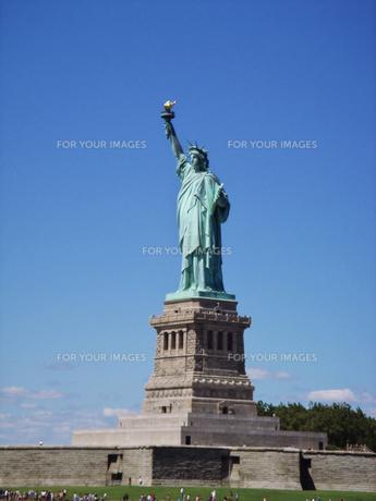 自由の女神の写真素材 [FYI00058475]