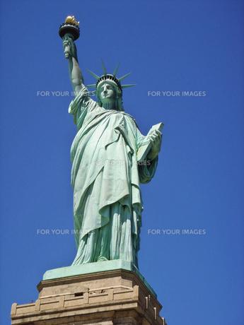 自由の女神の写真素材 [FYI00058487]