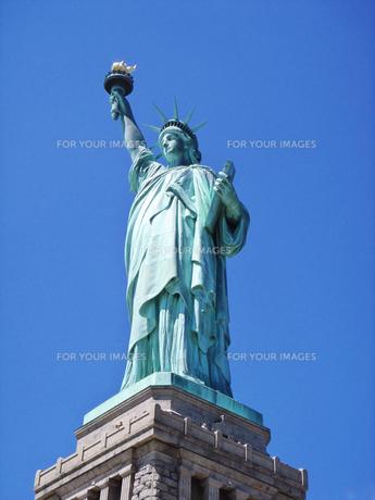 自由の女神の写真素材 [FYI00058488]
