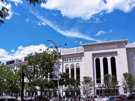 ヤンキースタジアムの写真素材 [FYI00058491]
