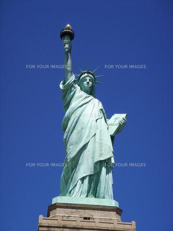 自由の女神の写真素材 [FYI00058495]