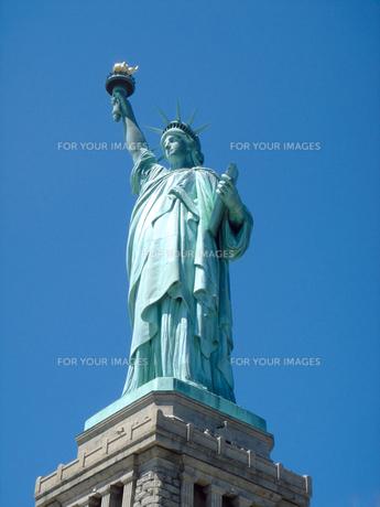 自由の女神の写真素材 [FYI00058610]