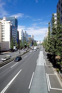 昭和通り(東京都中央区日本橋)の写真素材 [FYI00058627]