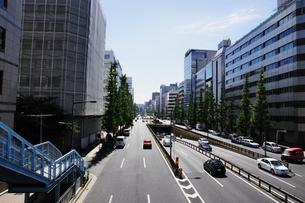 昭和通り(東京都中央区日本橋)の写真素材 [FYI00058631]