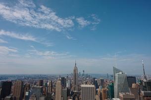 ロックフェらセンターから見たマンハッタンの写真素材 [FYI00059132]