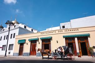 キューバのハバナ市街の写真素材 [FYI00059139]
