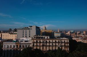 キューバのハバナ市街の写真素材 [FYI00059145]