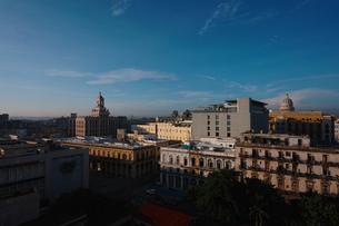 キューバのハバナ市街の写真素材 [FYI00059163]