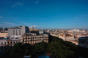 キューバのハバナ市街の写真素材 [FYI00059168]