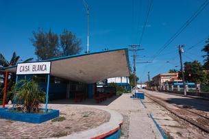 カサブランカ駅の写真素材 [FYI00059174]