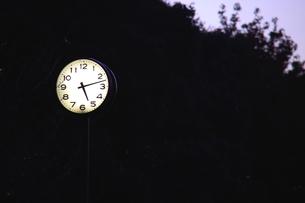 時計台の写真素材 [FYI00059350]
